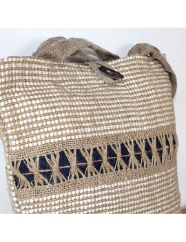 Sac cabas en lin naturel