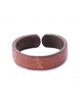 Bracelet en cuir motif...