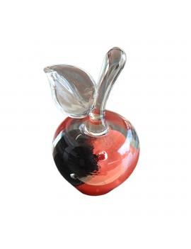 "Sculpture en verre ""Pomme..."